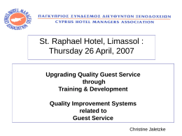 Christine_lecture - CYPRUS HOTEL MANAGERS …