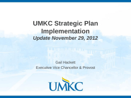 Strategic Plan - University of Missouri