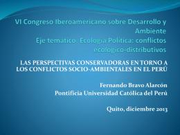 VI Congreso Iberoamericano sobre Desarrollo y Ambiente …