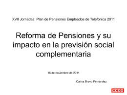 Reforma de Pensiones