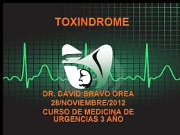 PRINCIPIOS DE TOXICOLOGIA CLINICA