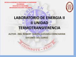 LABORATORIO DE ENERGIA II