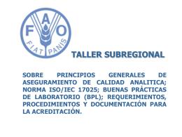 ASEGURAMIENTO DE CALIDAD EN EL LABORATORIO