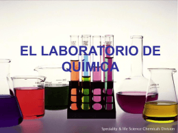 IMPLEMENTOS DEL LABORATORIO DE QUIMICA