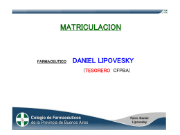 Diapositiva 1 - ColfarmaWeb Sitio