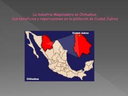 CORREDORES DE LA INDUSTRIA MAQUILADORA DE LA …