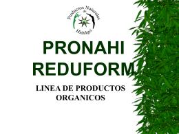 PRONAHI REDUFORM - Mundial Siglo 21 MEDICINA …