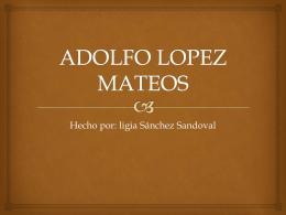 ADOLFO LOPEZ MATEOS - IUP Media Superior