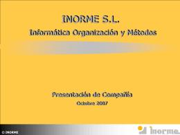 Diapositiva 1 - Inorme