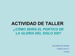 ACTIVIDAD DE TALLER