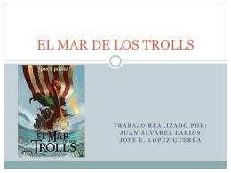 EL MAR DE LOS TROLLS - lenwiki
