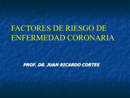 CONTROL DE LOS FACTORES DE RIESGO