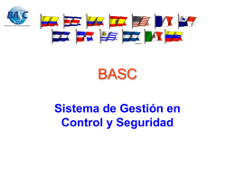 ESTANDARES BASC - Responsabilidad Integral Colombia