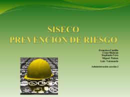 SISECO PREVENCION DE RIESGO - Zeniting
