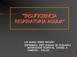 insuficiencia Respiratoria - Publidad Gratis, Inscripcion