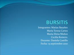 BURSITIS