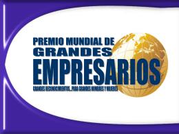 Diapositiva 1 - Grandes Empresarios