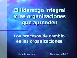 Liderazgo Integral - Universidad del CEMA