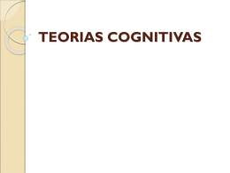 TEORIAS COGNITIVAS - Blogs