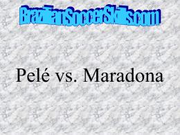 Pele x Maradona