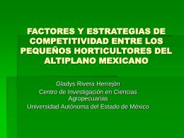 FACTORES Y ESTRATEGIAS DE COMPETITIVIDAD ENTRE …