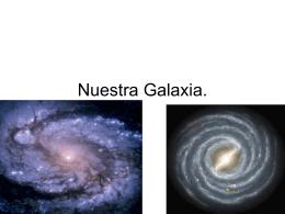 Nuestra Galaxia.