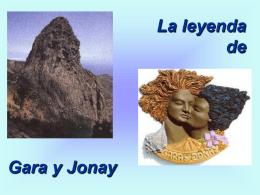La anigua historia de Gara y Jonay