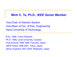 Introduction to IEEE Vietnam Section