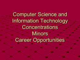 Computer Science - Austin Peay State University