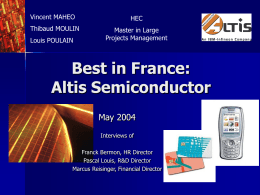Altis Semiconductor