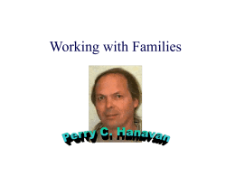 Working with Families - Augustana University