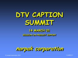 norpak corporate presentation