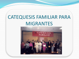 LA CATEQUESIS FAMILIAR, UNA ALTERNATIVA HISPANA …