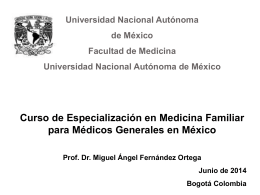 Medicina Familiar Antecedentes