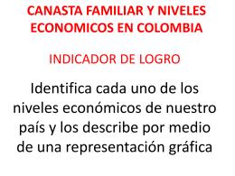 CANASTA FAMILIAR Y NIVELES ECONOMICOS EN …