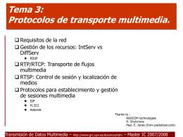 Tema 4: Aplicaciones Multimedia.