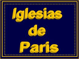Iglesias de Paris