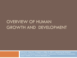 Stages of Human Development 1