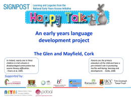 Happy Talk - Cork City Partnership Ltd