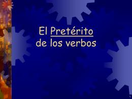 The Preterit - TCAPS Moodle