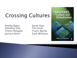 Crossing Cultures - Texas Tech University