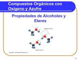 Chapter 12 Alcohols, Phenols, Ethers, Aldehydes, and …