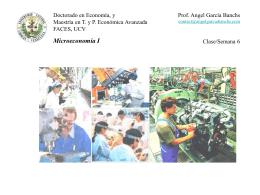 Clase 6 Microeconomia I