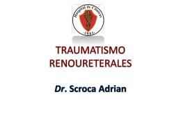 TRAUMATISMO RENOURETERALES