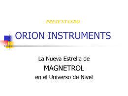 ORION INSTRUMENTS, LLP