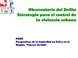 """Creencias, Actitudes y Practicas sobre Violencia En Colombia"""""""