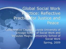 Global Social Work Practice
