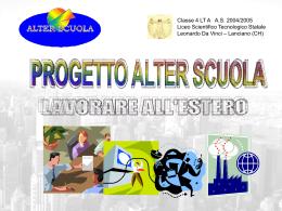 Diapositiva 1 - ALTER SCUOLA