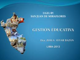 GERENCIA EDUCATIVA EFICAZ