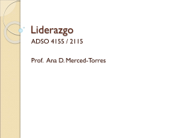 Liderazgo - Relaciones Humanas | Just another WordPress